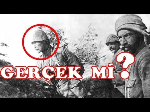 Çanakkale de Mustafa Kemal Atatürk Yoktu İşte Belgeler