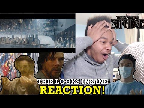 Doctor Strange Teaser Trailer REACTION!
