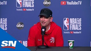 Nick Nurse Has Never Seen Anything Like What Siakam Did In NBA Finals Game 1 | FULL Press Conference