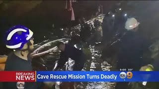 Thai Cave Rescue: Former Navy Diver Dies While Exiting Flooded Tunnels