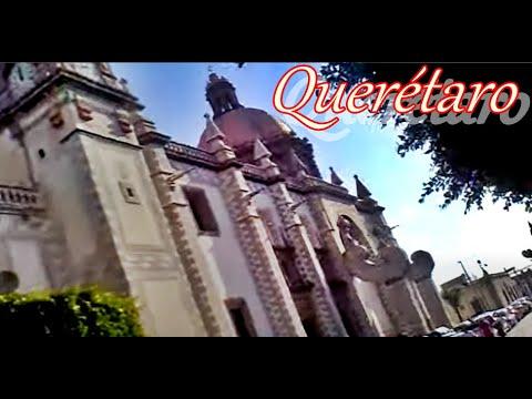 Queretaro Mexico Centro Historico caminando