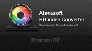 #Aiseesoft HD Video Converter 8 1 6  كيفية تحويل صيغ الفيديو والصوت  لجميع الصيغ