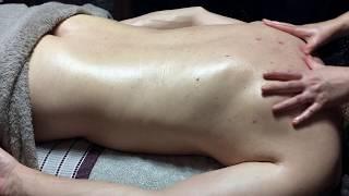 Full Body Massage Part 2 - Back Leg, Glutes, Back, Neck & Shoulders