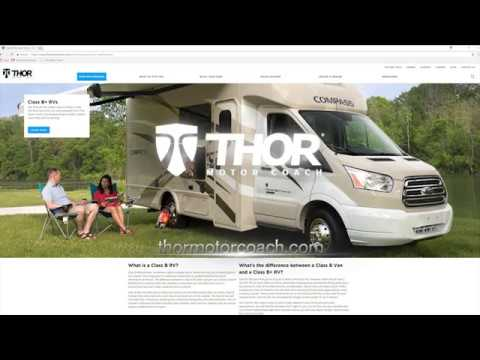 What's the difference between a Class B Van and a Class B RV