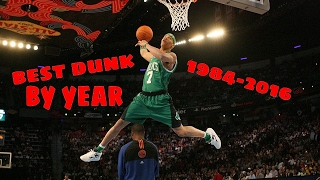 NBA Best Dunk Contest Dunk By Year (1984-2016)