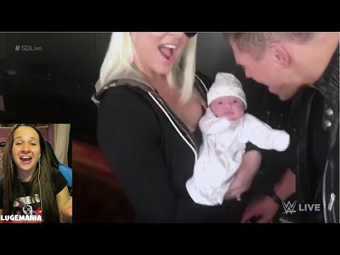 WWE Smackdown Miz with family