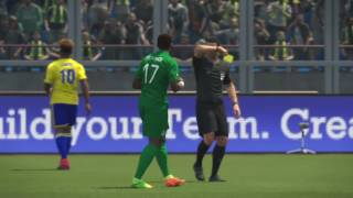 PS4 PES 2017 Gameplay Gabon vs Côte D