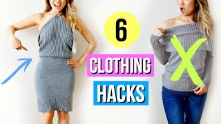 6 Clothing Hacks EVERY Girl Must Know for Spring!