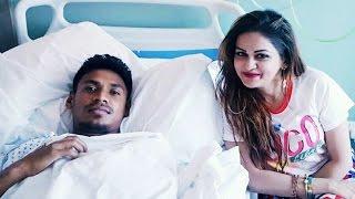 Mustafiz ke dekte Hospital a Nafisa Kamal
