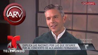 Así acabó el romance entre Desirée Ortíz y Luis Miguel   Al Rojo Vivo   Telemundo