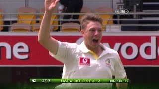 From The Vault: Pattinson stars on Test debut