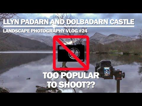 Llyn Padarn and Dolbadarn Castle Landscape Photography Vlog 24