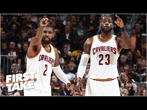 Kyrie Irving is using LeBron James as a prop Max Kellerman First Take