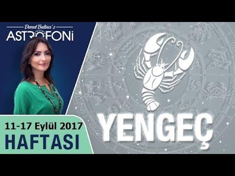 Yengeç Burcu Haftalık Astroloji Burç Yorumu 11-17 Eylül 2017