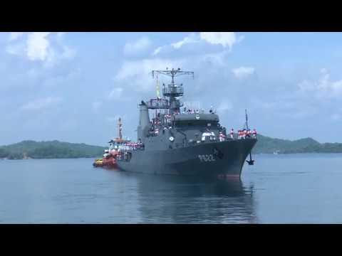"SLNS Sagara leaves for Indonesia to attend ""Exercise Komodo -2018"""