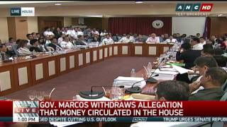 Marcos apologizes for P100-M bribe allegation