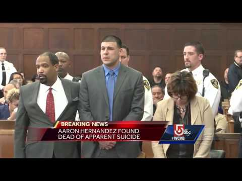 Sheriff reacts to death of Aaron Hernandez