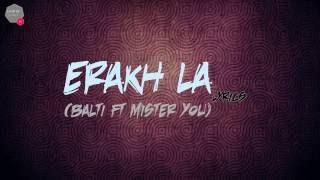 Balti Ft Mister you erakh la Lyrics