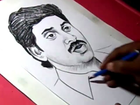 Xxx Mp4 How To Draw Y S JAGANMOHAN REDDY Drawing For Kids 3gp Sex