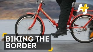 Refugees Can Cross This Border Without A Visa...If They Ride Bikes