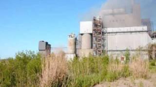 Lorain power plant fire