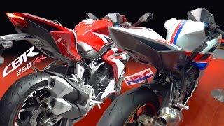 HONDA new CBR250RR 国内仕様 & HRCレース仕様車 Tokyo Motorcycle Show 2017