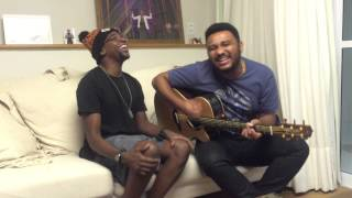 Mumuzinho e Eli Soares cantando
