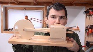 Wooden air engine build