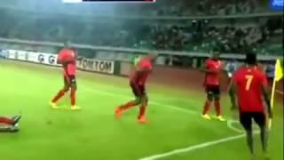Nigeria vs Uganda 0-1. Friendly match 25th.03.2015.