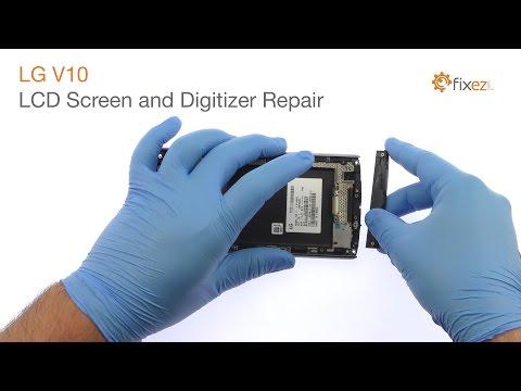 LG V10 LCD Screen and Digitizer Repair - Fixez.com
