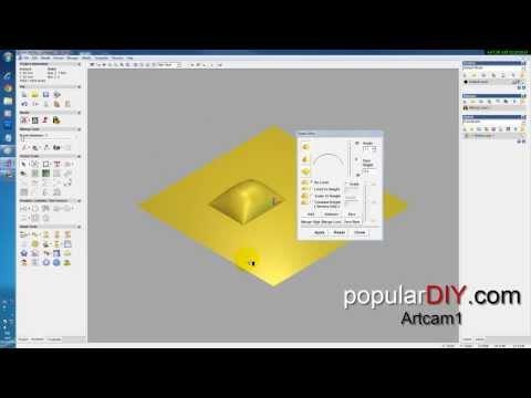 populardiy สอน artcam พื้นฐานตอนที่1