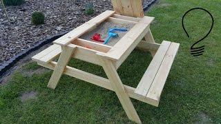 How To Make a Sandbox Picnic Table