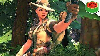 Ashe HUNTS Winstons! | Overwatch (Custom Game)