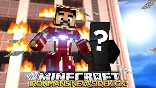 Minecraft Adventure - IRONMAN GETS A NEW SIDEKICK