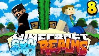 Minecraft: SKYREALMS CHALLENGE | THE POKEY POKE CHALLENGE !! [8]