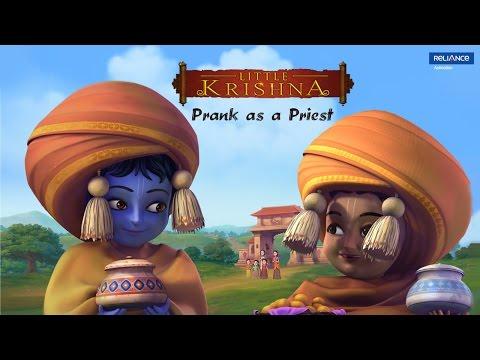 Little Krishna | Prank as a Priest | Video Clip