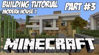 Minecraft Tutorial HD: Modern House 1 - Part 3 (Interior)
