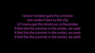 KID INK - Summer in the Winter ft. Omarion LYRICS