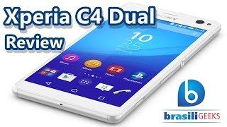Xperia C4 Dual - Sony - Review (Análise Completa em Português)