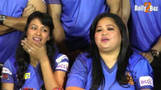 Bharti Singh at BCL Cricket Team Chandigarh Cubs Media Interaction