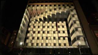 3D Projection Mapping  promoting The Tourist in Dallas