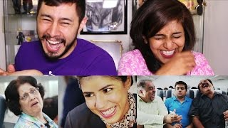 AIB Honest Indian Flights Reaction by Jaby & Mohitha!