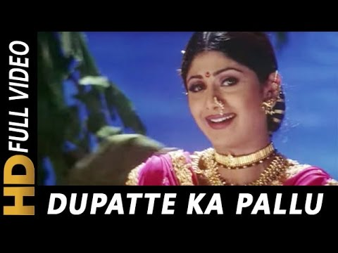 Dupatte Ka Pallu | Richa Sharma | Tarkieb 2000 Songs | Shilpa Shetty, Nana Patekar, Tabu