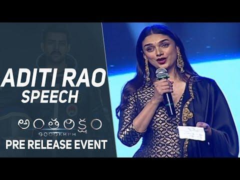 Xxx Mp4 Actress Aditi Rao Hydari Speech Antariksham 9000 KMPH Pre Release Event 3gp Sex
