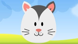 The Cat Says Meow  - Songs for kids, Children