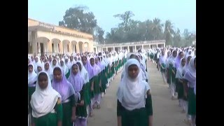 Amin Memorial High School assembly and Bangla Class