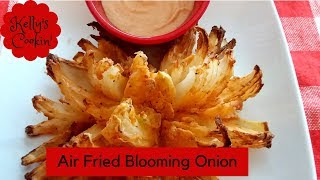 Air fried Blooming Onion Recipe Using The Cook