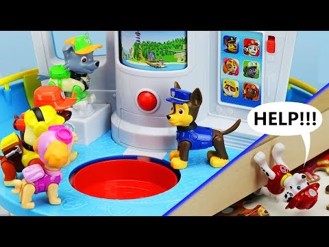 Xxx Mp4 MARSHALL 39 S IN TROUBLE Paw Patrol My Size Lookout Tower Rescue Mission Amp Puzzle Toy Learning Video 3gp Sex