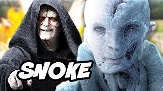 Star Wars Episode 8 The Last Jedi Snoke Origin and Palpatine Explained