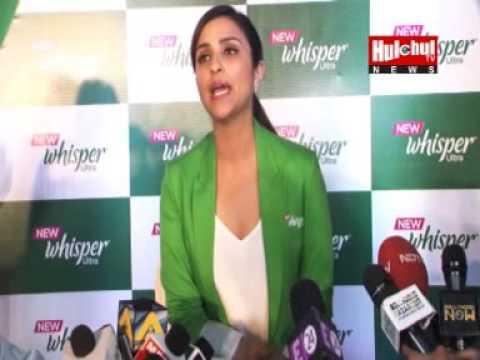 Parineeti Chopra Boldly Talks on Women's Periods While Promotions of Whisper at Mumbai